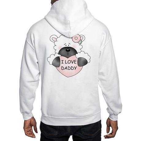 I LOVE DADDY Hooded Sweatshirt