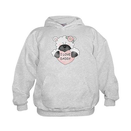 I LOVE DADDY Kids Hoodie