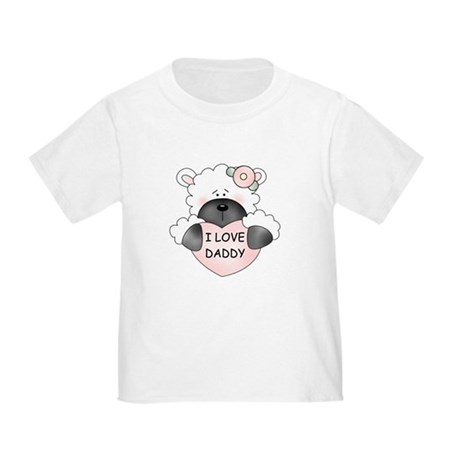 I LOVE DADDY Toddler T-Shirt