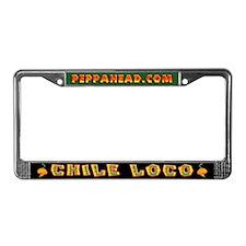 CHILE LOCO License Plate Frame