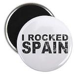 I Rocked Spain Magnet
