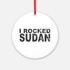 I Rocked Sudan Ornament (Round)
