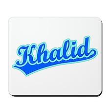 Retro Khalid (Blue) Mousepad