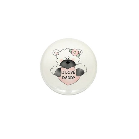 I LOVE DADDY Mini Button (10 pack)