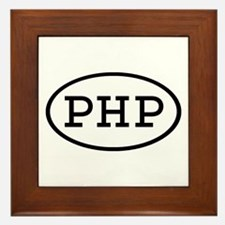 PHP Oval Framed Tile