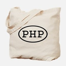 PHP Oval Tote Bag