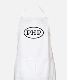 PHP Oval BBQ Apron
