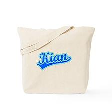 Retro Kian (Blue) Tote Bag