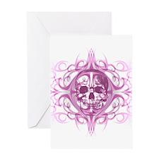 Lady SkullZ Greeting Card