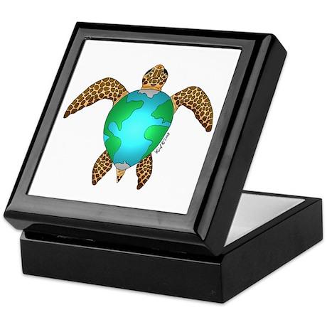 Sea Turtle Keepsake Box