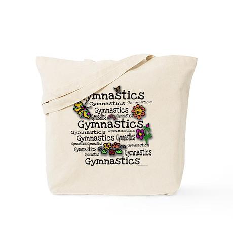 Gymnastic Flowers Tote Bag
