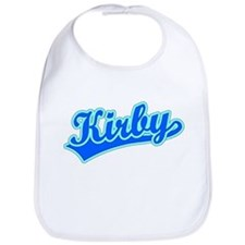 Retro Kirby (Blue) Bib