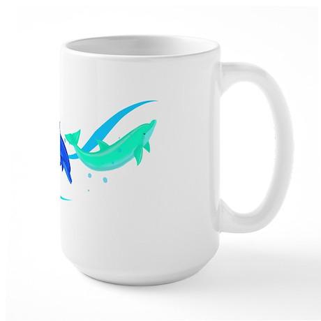Peace in a Pod Large Mug