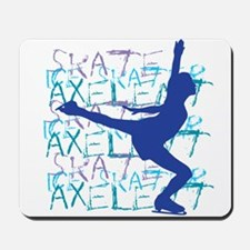 Just Land It Ice Skating Mousepad