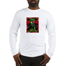 """Kwame Destroys Detroit"" Long Sleeve T-Shirt"