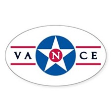Vance Air Force Base Oval Decal