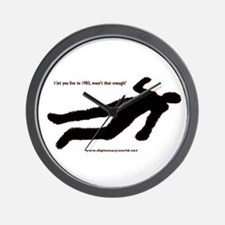 Let You Live Wall Clock