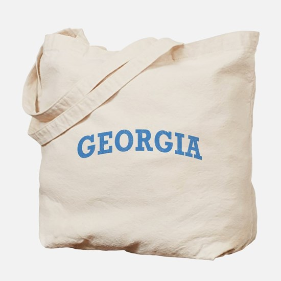 Vintage Georgia Tote Bag