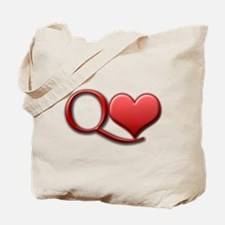 """Queen of Hearts"" Tote Bag"
