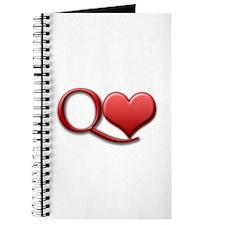 """""""Queen of Hearts"""" Journal"""