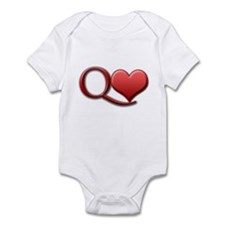 """Queen of Hearts"" Infant Bodysuit"