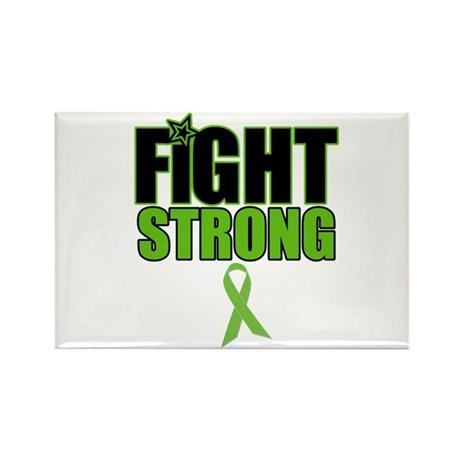 Fight Strong Lymphoma Rectangle Magnet