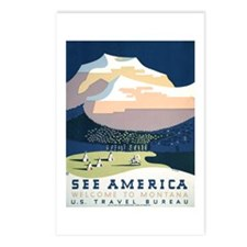 See America Montana Postcards (Package of 8)