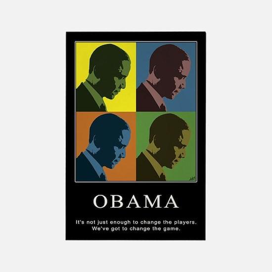 Limited Edition Obama Rectangle Magnet