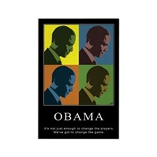 Limited Edition Obama Rectangle Magnet (100 pack)