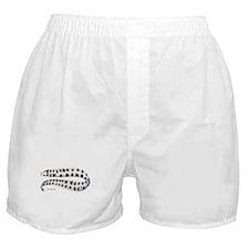 Snowflake Eel Fish Boxer Shorts