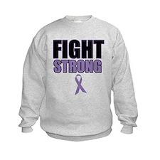 Fight Strong For Hodgkin's Sweatshirt