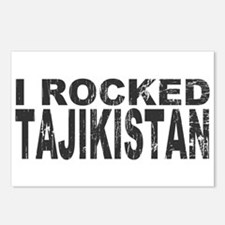 I Rocked Tajikistan Postcards (Package of 8)