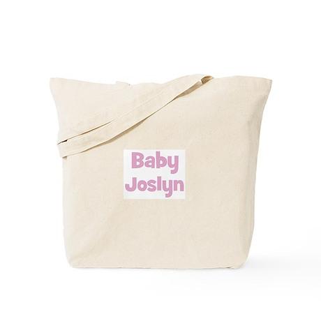 Baby Joslyn (pink) Tote Bag