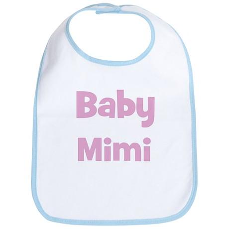Baby Mimi (pink) Bib
