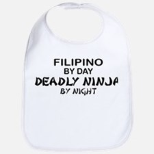 Filipino Deadly Ninja by Night Bib
