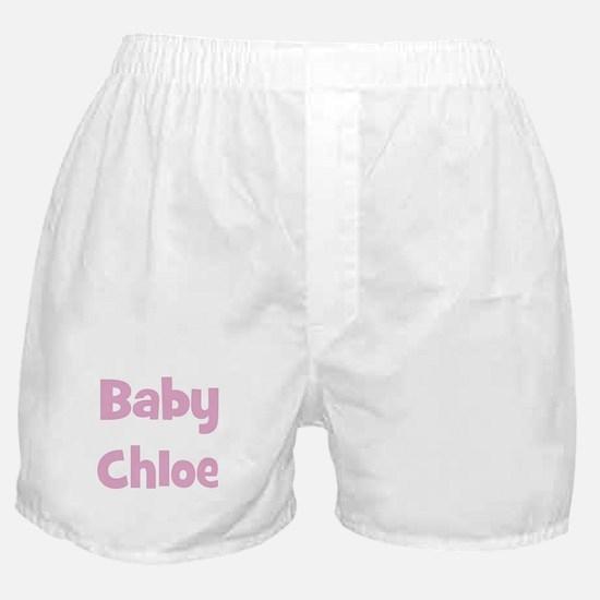 Baby Chloe (pink) Boxer Shorts