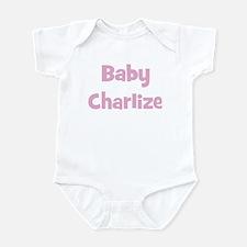 Baby Charlize (pink) Infant Bodysuit