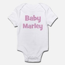 Baby Marley (pink) Infant Bodysuit