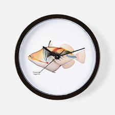 Picasso Trigger Fish Wall Clock
