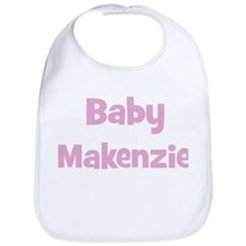 Baby Makenzie (pink) Bib