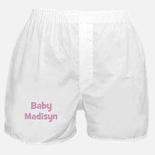 Baby Madisyn (pink) Boxer Shorts