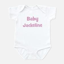 Baby Jackeline (pink) Infant Bodysuit