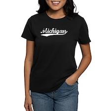Vintage Michigan (Silver) Tee
