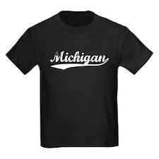 Vintage Michigan (Silver) T