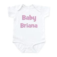 Baby Briana (pink) Infant Bodysuit