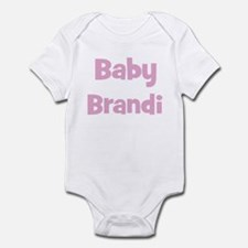 Baby Brandi (pink) Infant Bodysuit