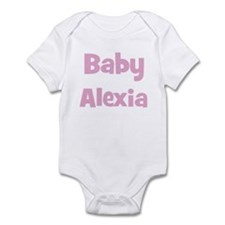 Baby Alexia (pink) Infant Bodysuit