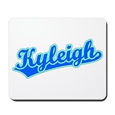 Retro Kyleigh (Blue) Mousepad