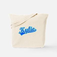 Retro Kylie (Blue) Tote Bag