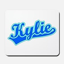 Retro Kylie (Blue) Mousepad